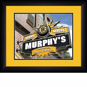 NHL Sports Pub Personalized Prints