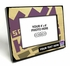 Sacramento Kings Personalized Black Wood Edge 4x6 inch Picture Frame