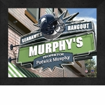 Seattle Seahawks Personalized Sports Room / Pub Sign Print