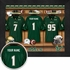 South Florida Bulls Personalized Football Locker Room Print