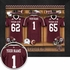 Texas A&M Aggies Personalized Football Locker Room Print