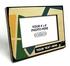 Utah Jazz Personalized Black Wood Edge 4x6 inch Picture Frame