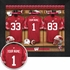 Wisconsin Badgers Personalized Football Locker Room Print