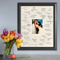 Autograph-Signature Wedding Frame