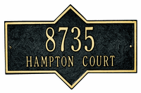 Architectural Plaque - Hampton