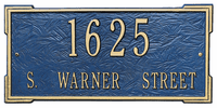 Architectural Plaque - Roanoke in Petite, Standard & Estate