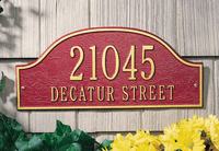 Architectural Plaques-Admiral in Petite, Standard & Estate