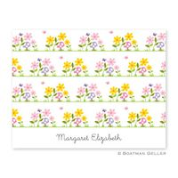 Bloom-Personalized Stationery