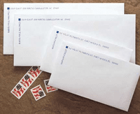 Corner Billpayer Envelopes