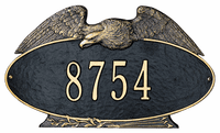 Decorative Plaque - Eagle Oval