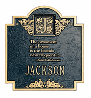 Decorative Plaques - Emerson