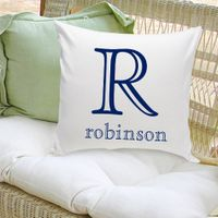Family Name Decorative Pillows