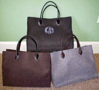 Felted Large Tote
