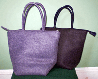 Felted Lunch Bags
