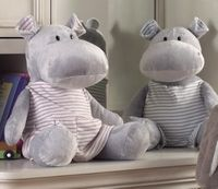 Henry & Hillary Hippo--Now Available in Two Sizes!
