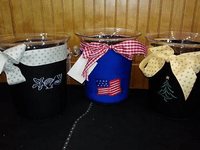 Ice Buckets with Personalized Covers