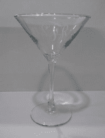 Martini Glasses 7.5oz. from Susquennah Glass