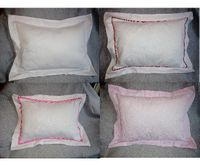 Pique Baby Pillows from Bows and Beaus