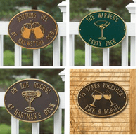 Specialty Plaques - Margarita, Beer Mugs, Martini & Grill Hawthorne Plaques