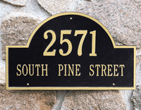 Traditional Architectural Plaques