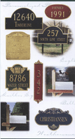 Whitehall Personalized Plaques
