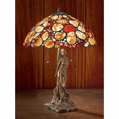 Burren Lady Natural Stone Shade Lamp