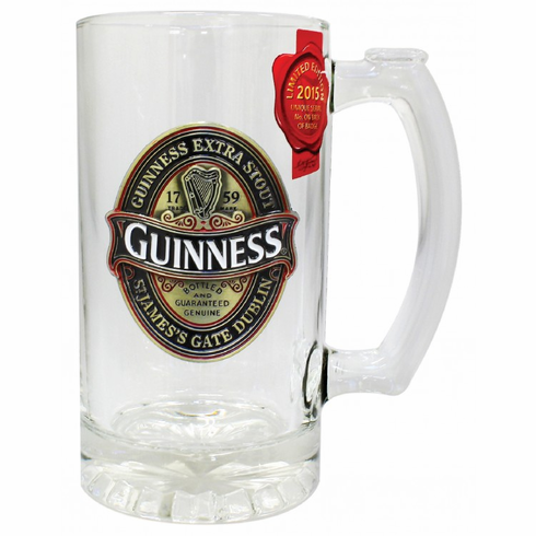 Guinness 2015 Color Filled Tankard