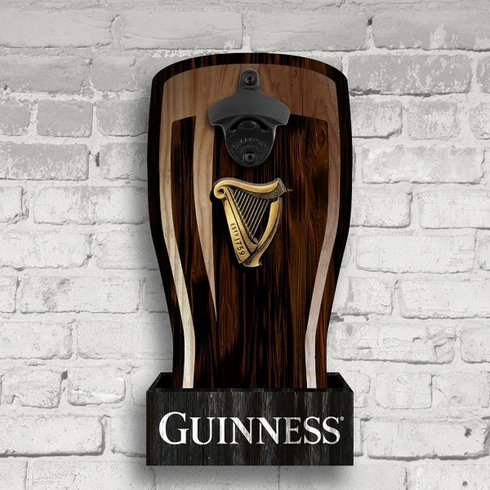 Guinness Bottle Opener Cap Catcher