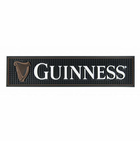 Guinness PVC Harp Bar Mat