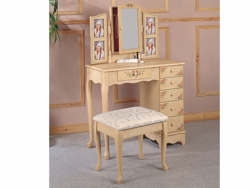2PC Vanity Set/Stool