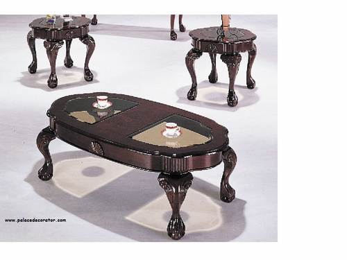 3 PCs  Pack Coffee/End Table Set