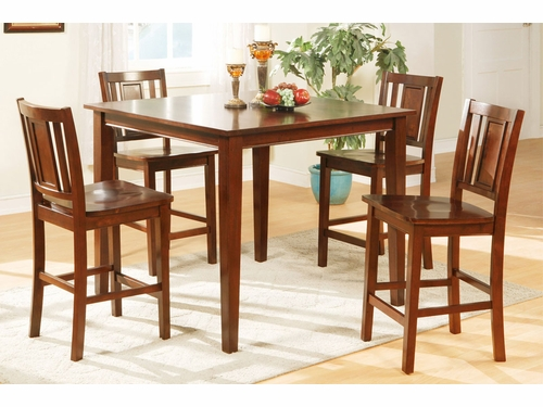 5 PCs Pack Counter Height Dinette Set