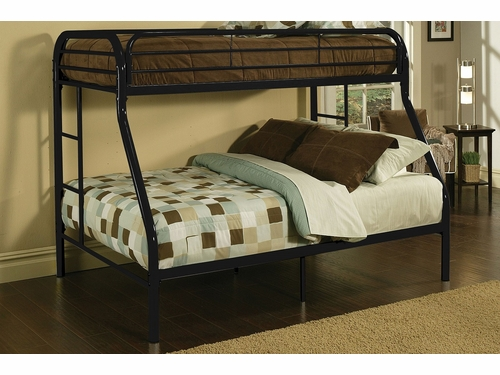Acme Furniture Item 02053: Tritan Twin/Full Metal Bunk Bed