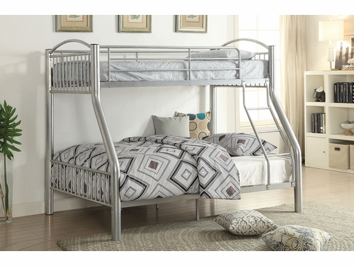 Acme Furniture Item 37380: Cayelynn Twin/Full Bunk Bed