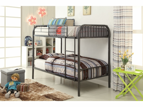 Acme Furniture Item 37535: Bristol Convertible Twin/Twin Bunk Bed