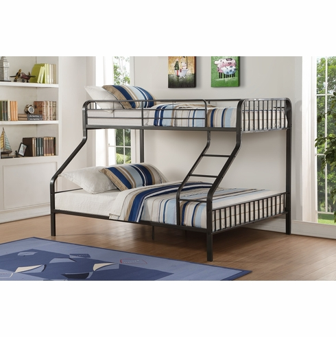 Acme Furniture Item 37605: Caius Twin XL/Queen Bunk Bed
