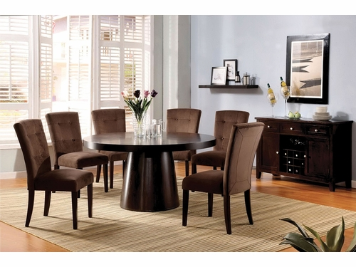 Havana Collection 7 PCS Dining Table Set