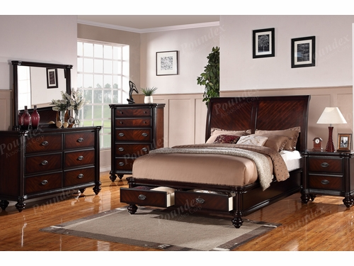 Platform Eastern King Bed Frame