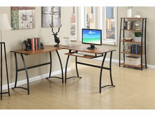 Poundex Furniture Item F3064: 3 PCs Work Station