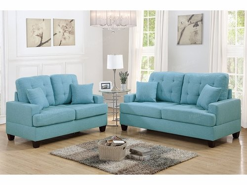 Poundex Furniture Item F6502: 2-PCs Sofa Set