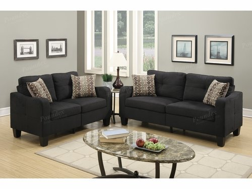 Poundex Furniture Item F6922: 2-PCs Sofa Set