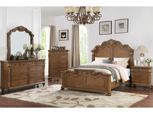 Poundex Furniture Item F9387EK: Eastern King Bed Frame
