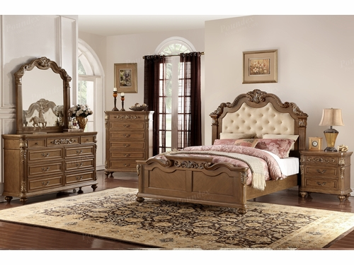 Poundex Furniture Item F9388EK: Eastern King Bed Frame