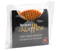 Tregroes Toffee Waffles - 2pk  - Sold Out