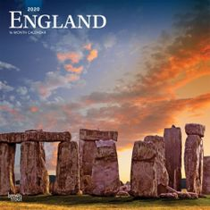 2020 England 16 Month Calendar - Sold Out