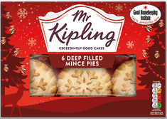 Mr. Kipling 6 Mince Pies - 120g - Sold Out