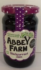 Abbey Farm Blackcurrant Jam - 340g - 4 In Stock
