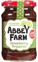 Abbey Farm Gooseberry Jam - 340g - 4 In Stock
