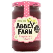 Abbey Farm Irish Raspberry Jam - 340g - Sold Out