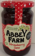 Abbey Farm Strawberry Jam - 340g - Sold Out
